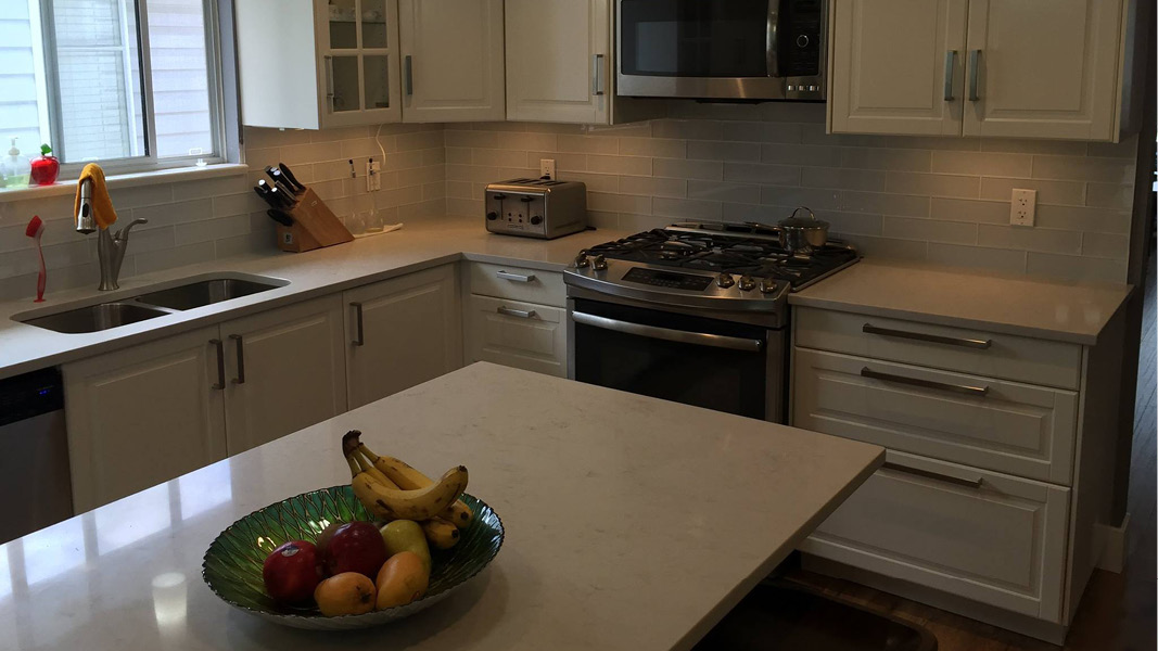 Kitchen renovation project in Port Coquitlam