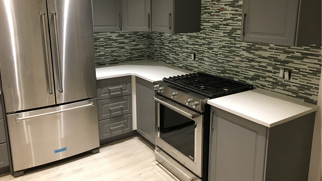 Kitchen renovation project in Burnaby - whole