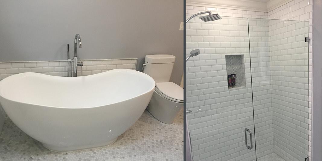 Bathroom renovation example