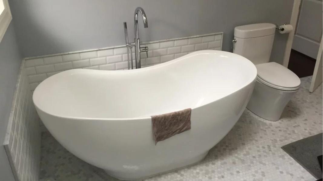 Custom bathroom renovation in Coquitlam