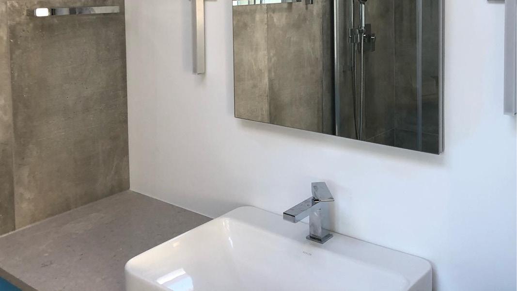 Bathroom renovation project in Coquitlam - Mirror