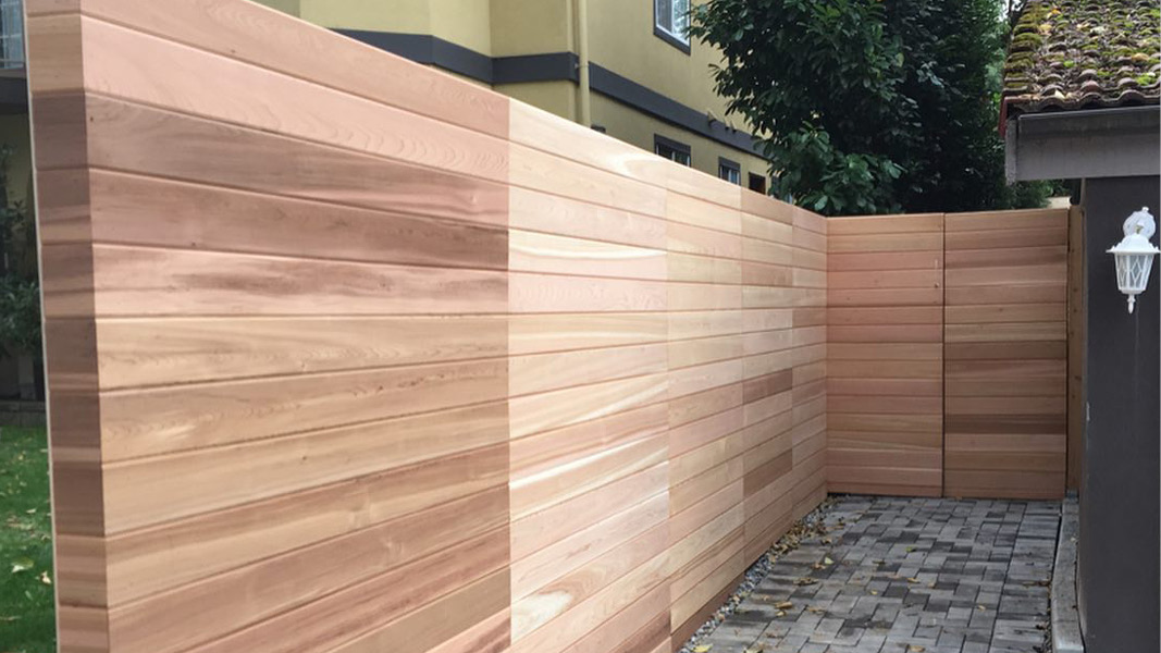 Fence project for North Vancouver Residence