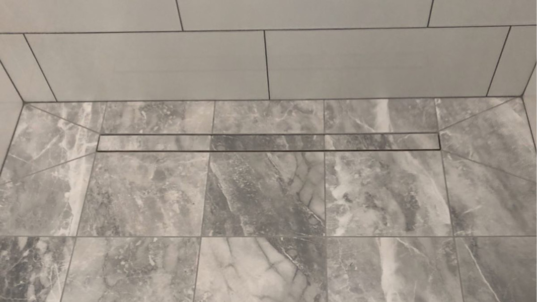 Bathroom renovation project in Coquitlam